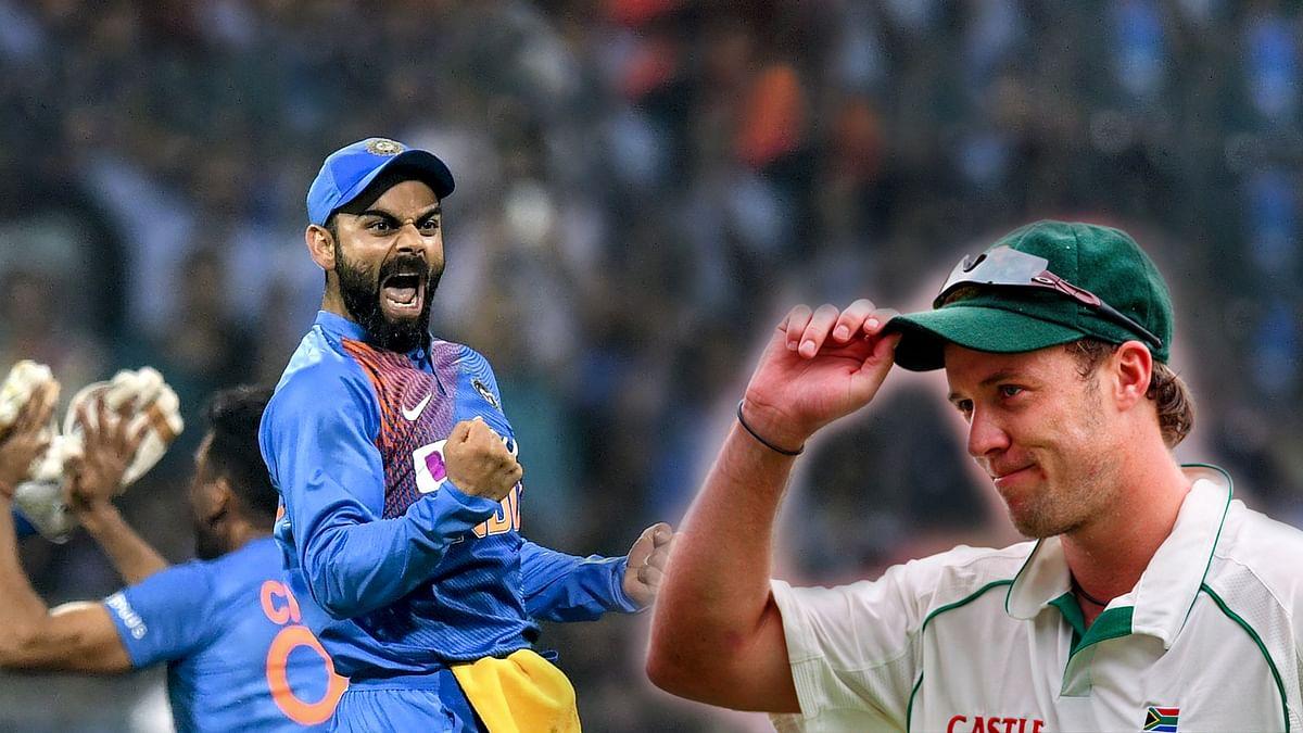 एबी डीविलियर्स ने माना विराट कोहली हैं क्रिकेट के रोजर फेडरर