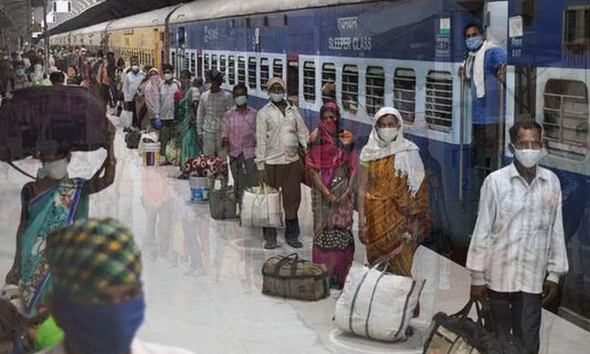 श्रमिक स्पेशल ट्रेन का टोकन लेने धूप में कतार में खड़ी महिला की मौत