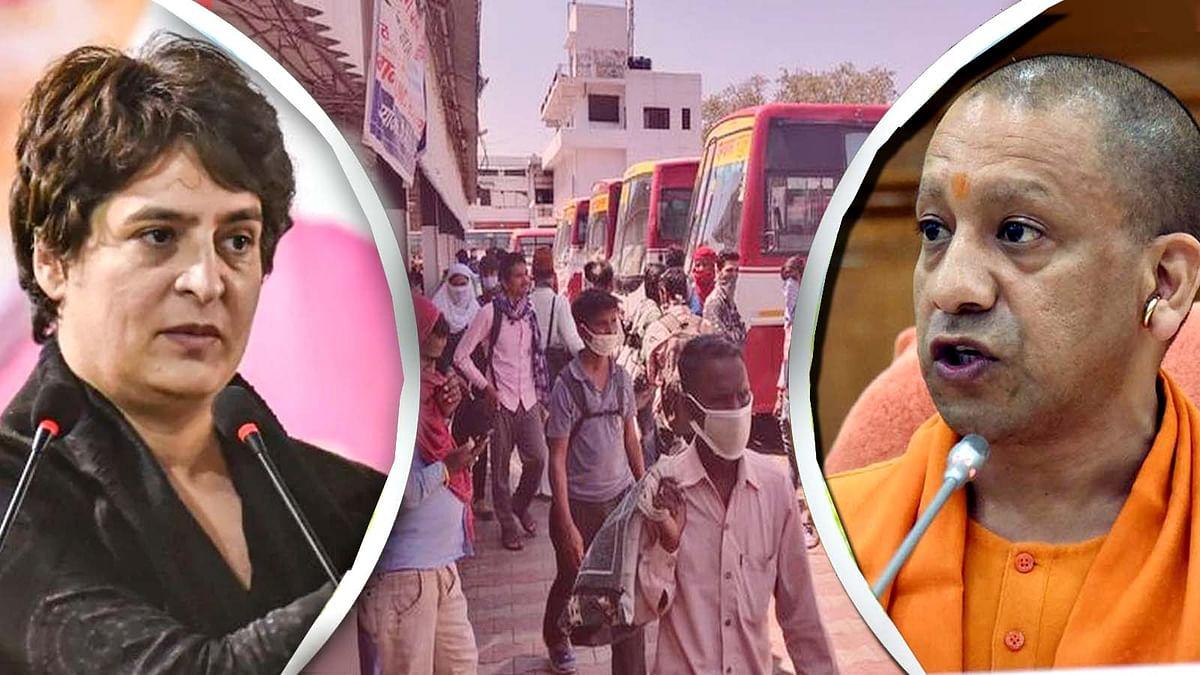 उत्तर प्रदेश बस मुद्दा: कोरोना और राजनीति के बीच झूलती कई जिंदगियां