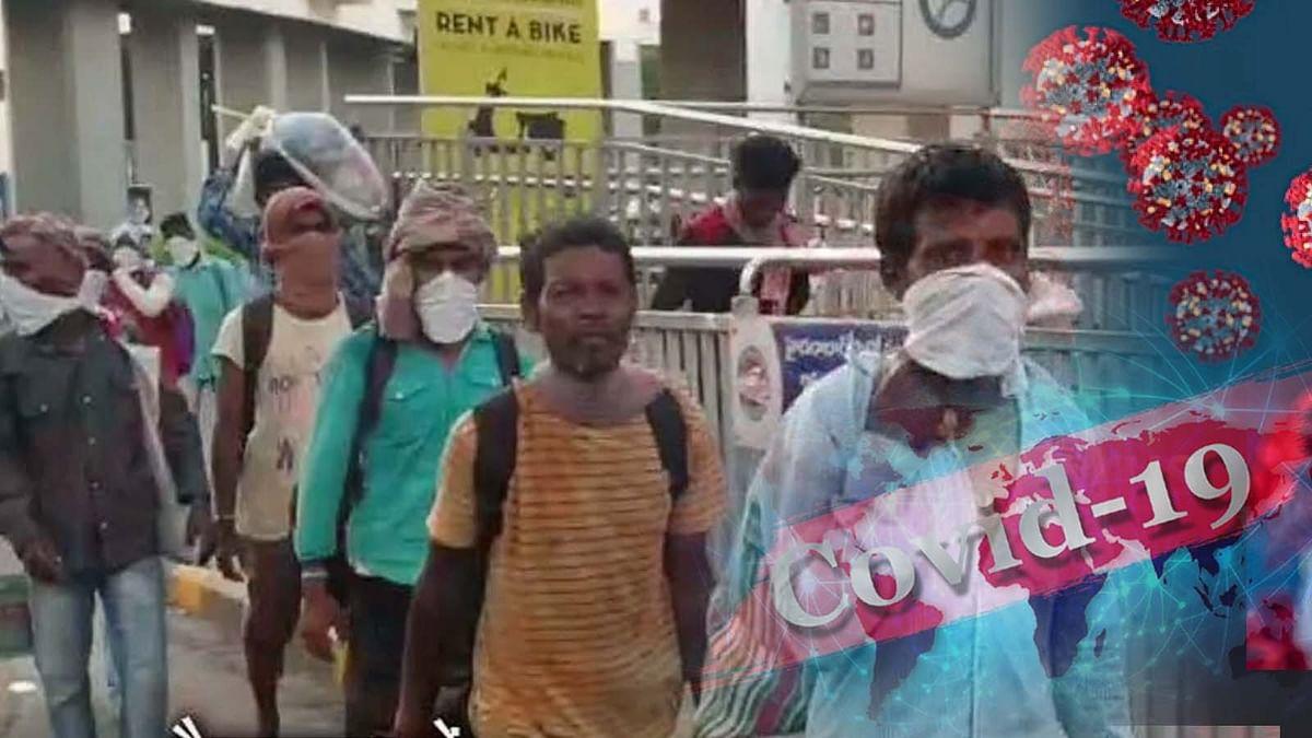 कोरोना की बढ़ती रफ्तार-तेलंगाना में 10 प्रवासी मजदूर कोरोना संक्रमित