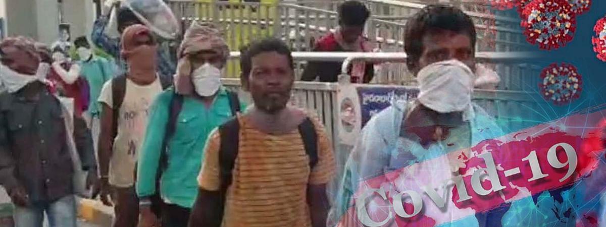 महामारी की बढ़ती रफ्तार-तेलंगाना में 10 मजदूर कोरोना संक्रमित