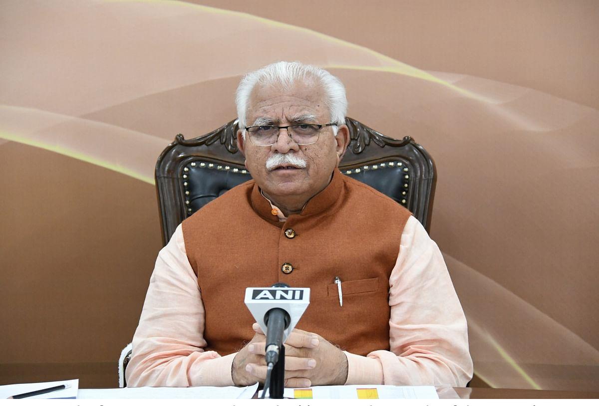 हरियाणा : CM खट्टर ने MSP पर खुद को लगाया दांव पर, बोले- छोड़ दूंगा राजनीति