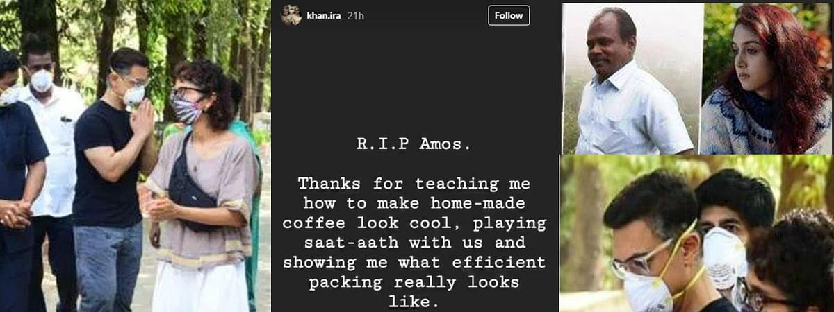 आमिर के असिस्टेंट आमोस के निधन पर बेटी इरा ने लिखा इमोशनल वाला पोस्ट
