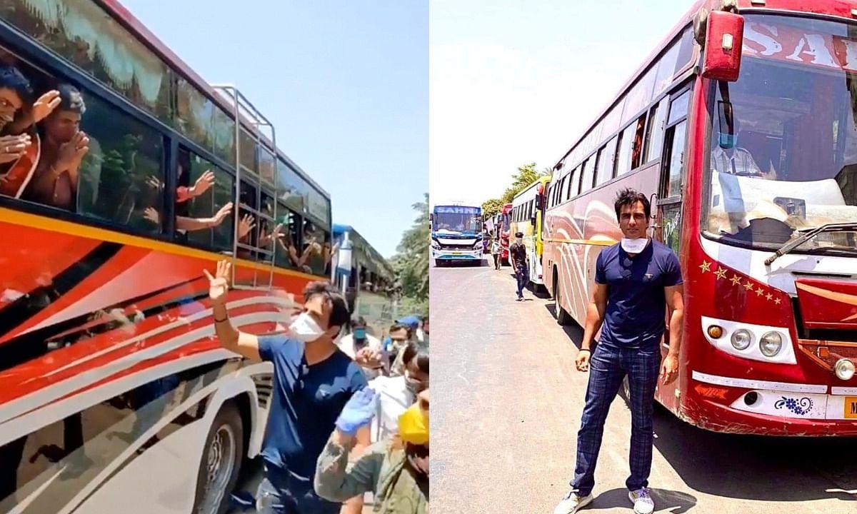 सोनू सूद ने जारी किया प्रवासी मजदूरों की मदद के लिए हेल्पलाइन नंबर