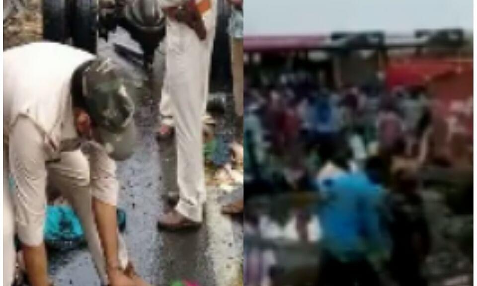 बड़वानी-भिंड में ट्रक से कुचले मजदूर, रफ्तार ने निगली कई जिंदगियां