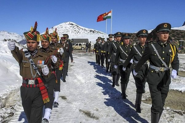 भारत-चीन सीमा पर तनाव बढ़ा, सीमा रेखा पर सैनिकों की भारी तैनाती