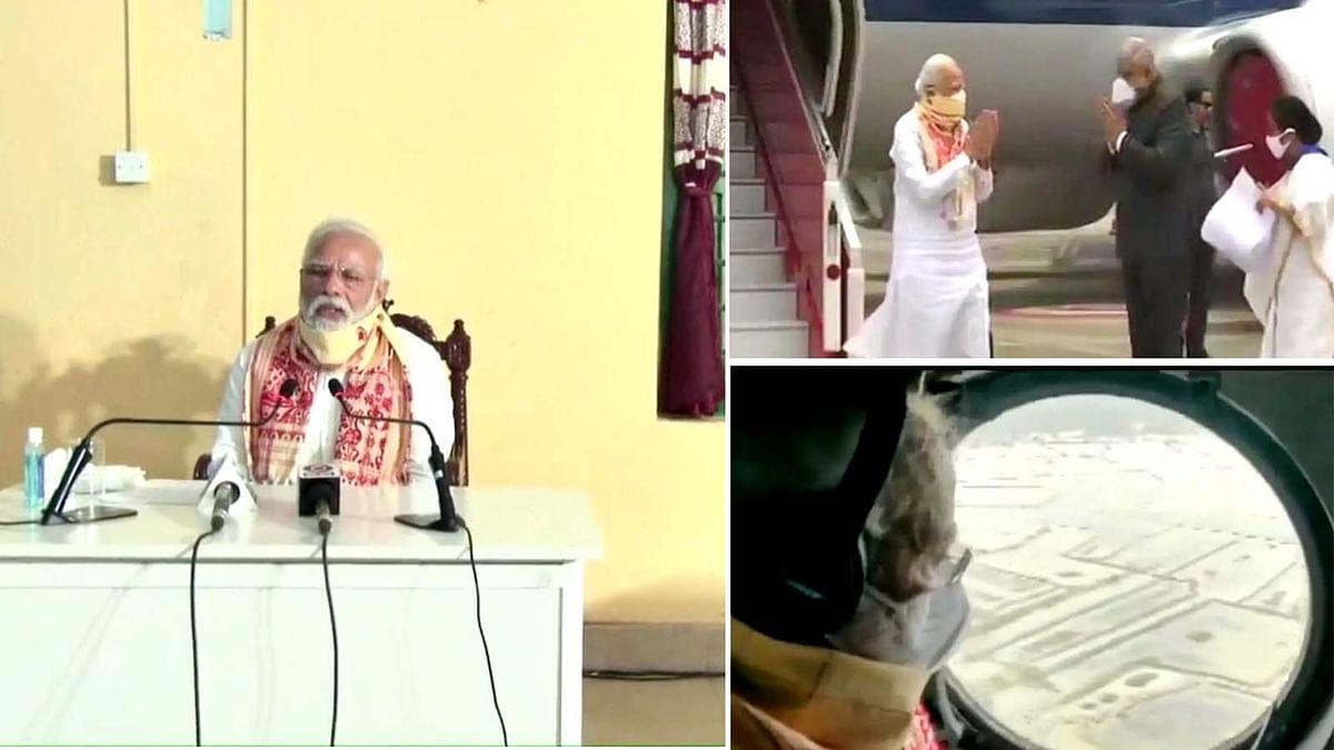 तूफान से तबाह बंगाल, PM मोदी ने जारी की 1000 करोड़ की राहत राशि