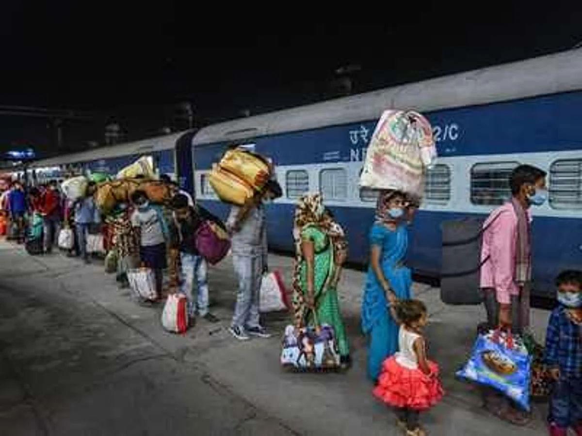 श्रमिकों के लिए बड़ी राहत: 1 जून से चलेंगी 200 नॉन एसी ट्रेनें