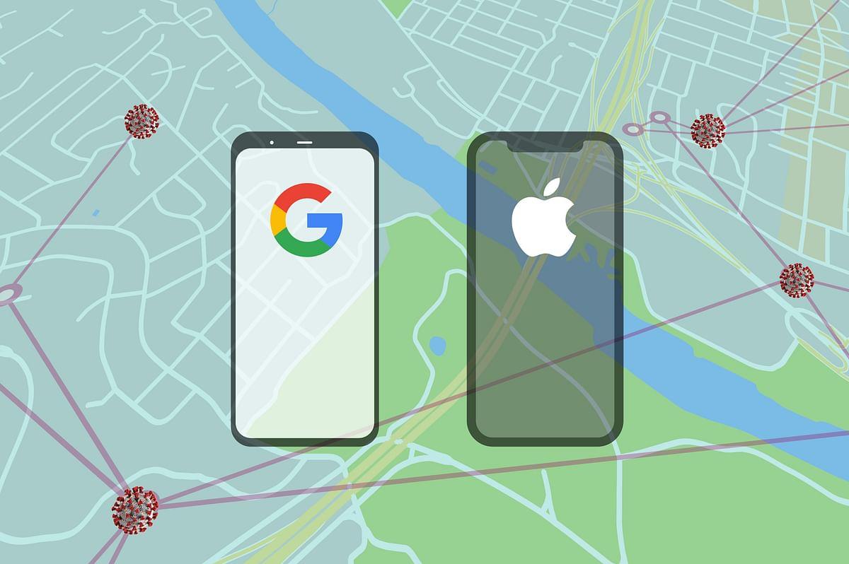 एप्पल, गूगल ने भी कोरोना संक्रमण रोकने के लिए एप्प जारी किये