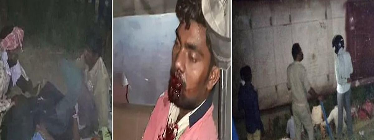 Prayagraj Laborers Bus Accident