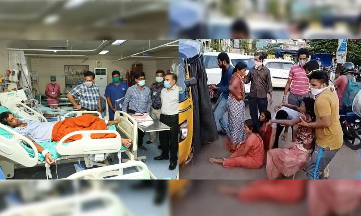 रायगढ़ में पेपर मिल ने उगला जहर गैस रिसाव से मजदूरों की हालत गंभीर
