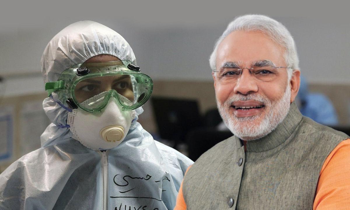 PM मोदी ने कोरोना हराने का महान काम कर रहीं नर्सों का किया आभार