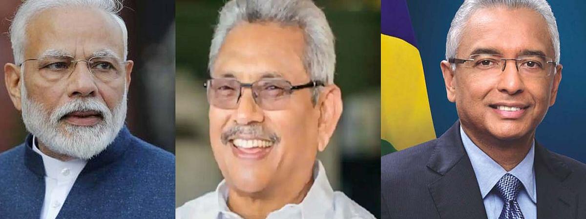 PM मोदी की श्रीलंकाई राष्ट्रपति और मॉरीशस के PM से बात