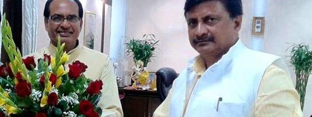 सतना सासंद और CM की मुलाकात ।
