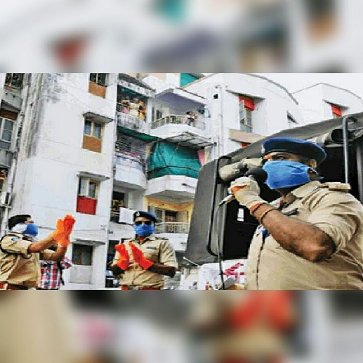 पुलिस कर्मचारियों ने फिर से संभाला मोर्चा, दी कोरोना को मात