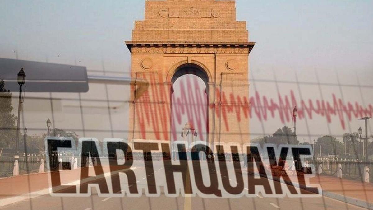 दिल्ली में एक हफ्ते में दूसरी बार भूकंप से थर्राई धरती