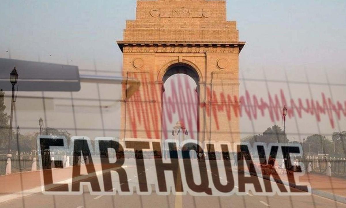 राजधानी दिल्ली में एक बार फिर महसूस किए गए भूकंप के झटके