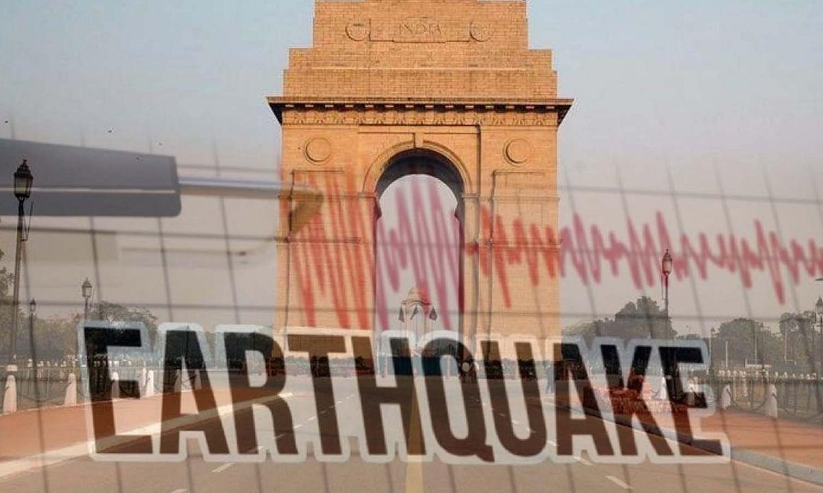 दिल्ली में आंधी-तूफान-बारिश के बाद आया भूकंप