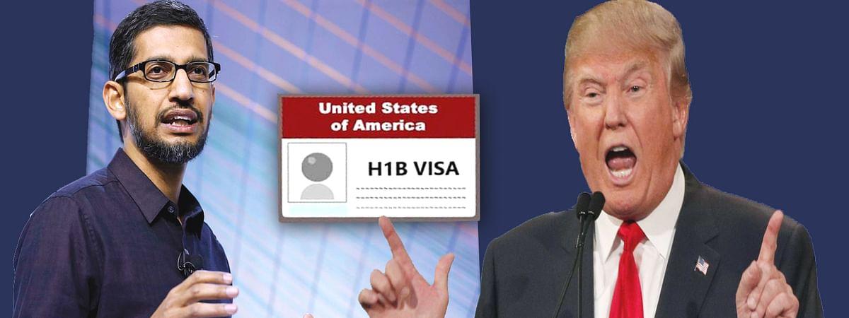 Google CEO sundar pichai tweet over decision to stop H1-B visa