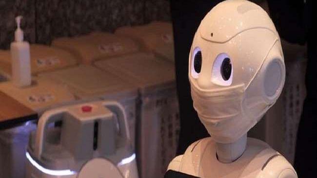 जापान ने रोबोट तैयार कर निकाला कोरोना को फैलने से रोकने का तरीका