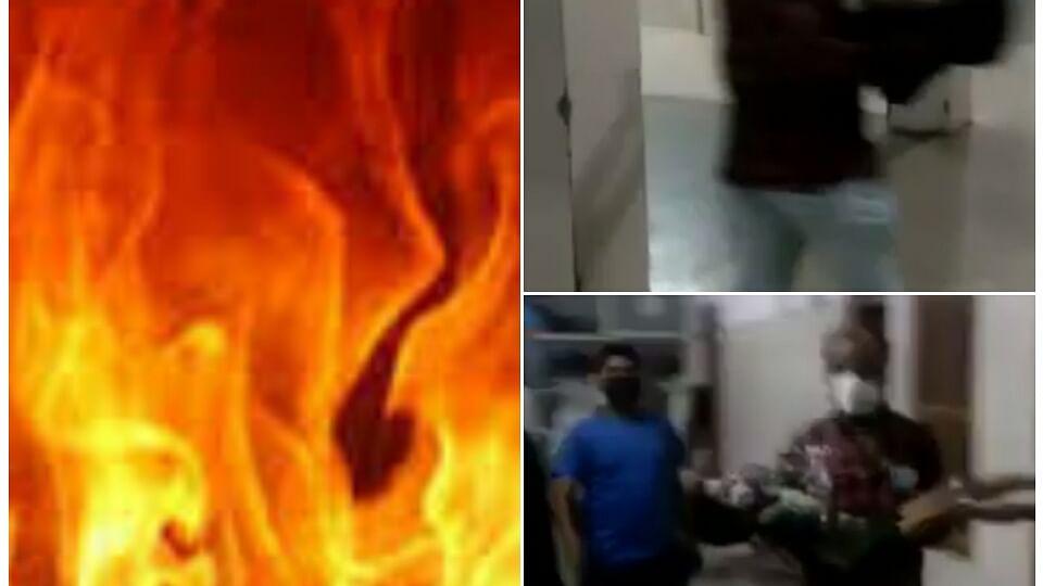 टीकमगढ़: विवाद में पति ने परिवार को किया आग के हवाले, मासूम की मौत