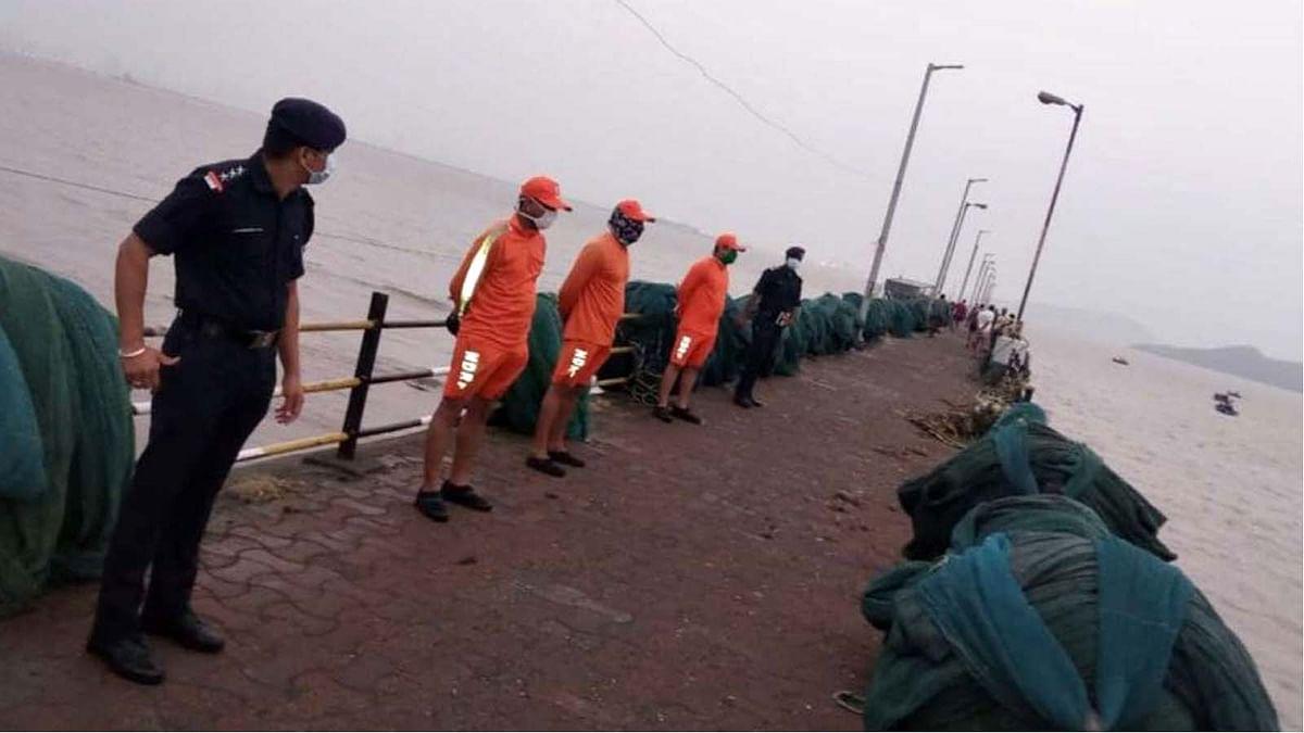 मुंबई: चक्रवाती तूफान 'निसर्ग' की तबाही का बड़ा खतरा टला