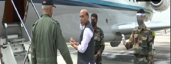 Indian Defense Minister Rajnath Singh reached Russia on three-day visit