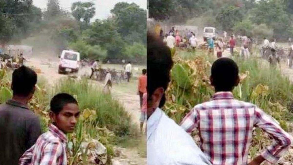 UP:वर्दी की हनक में किसान की सब्जियों को वाहन से रौंदा-दरोगा सस्पेंड
