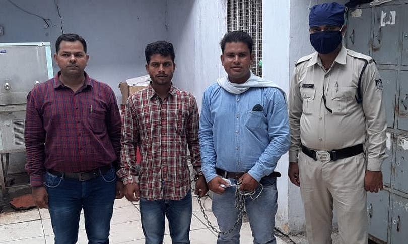 दिनदहाड़े हो रही चोरी की वारदातों पर पुलिस की धरपकड़, शातिर गिरफ्त में