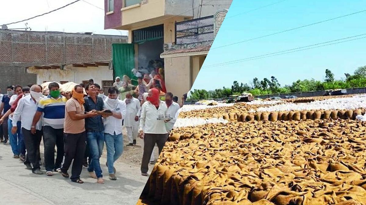 दुखद समाचार: गेहूं बेचने गए किसान की आकस्मिक मौत से मचा हड़कंप