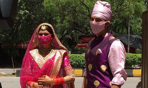 'ससुराल सिमर का' फेम मनीष रायसिंघनी ने संगीता संग रचाई शादी,देखें फोटो