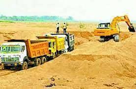उमरिया: बल्हौड़ रेत खदान में मशीन से होगा खनन