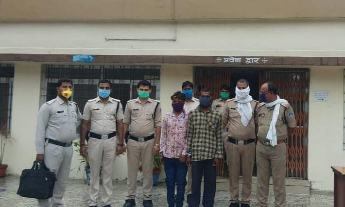आदतन अपराधियों को जयंत पुलिस ने गिरफ्तार कर किया न्यायालय में पेश