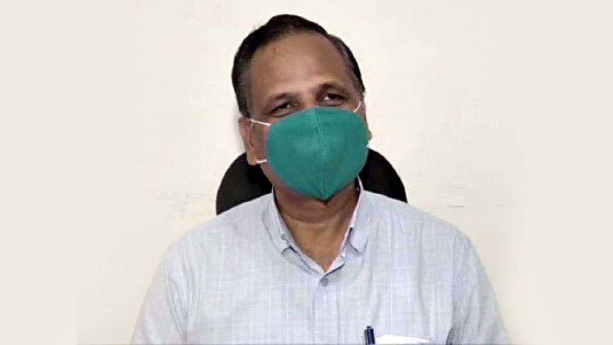 दिल्ली: कोरोना संक्रमित स्वास्थ्य मंत्री जैन ऑक्सीजन सपोर्ट पर