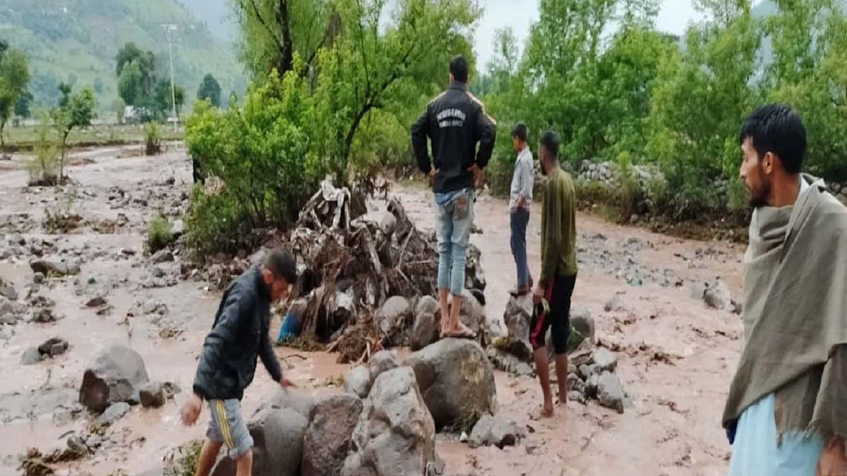 जम्मू कश्मीर: पुंछ में बादल फटने से मची जबरदस्त तबाही