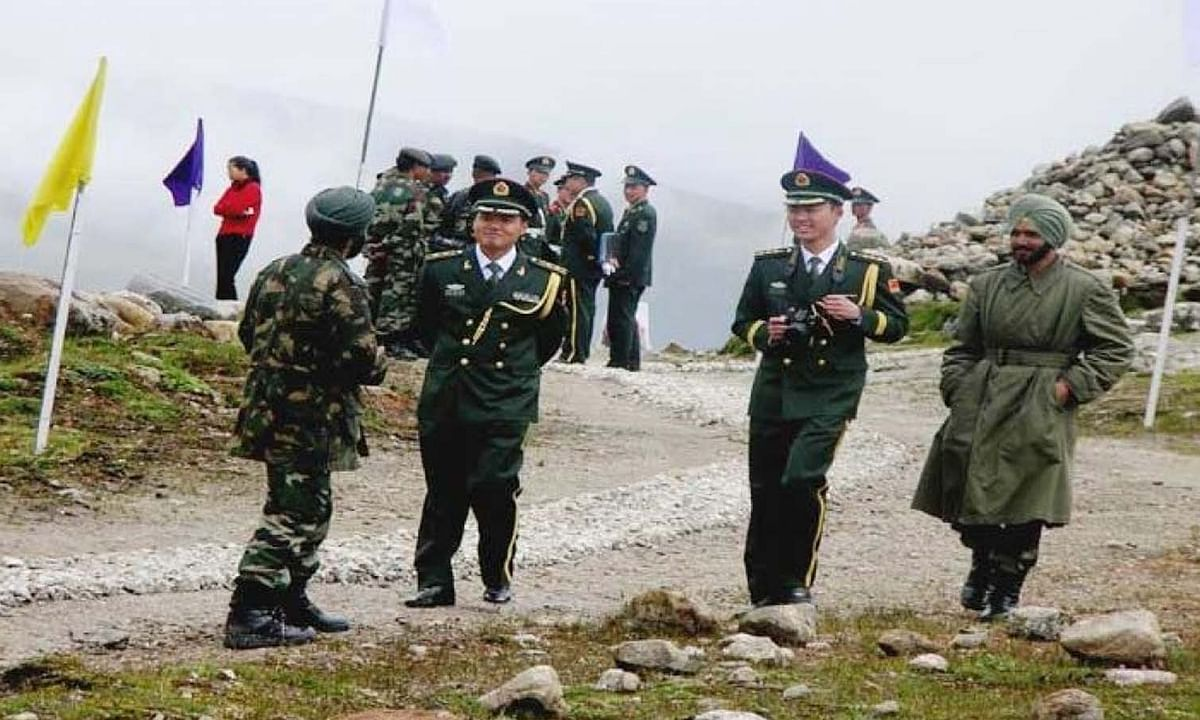 लद्दाख गतिरोध पर दोनों देशों के सैन्य अधिकारियों के बीच फिर हुई बैठक