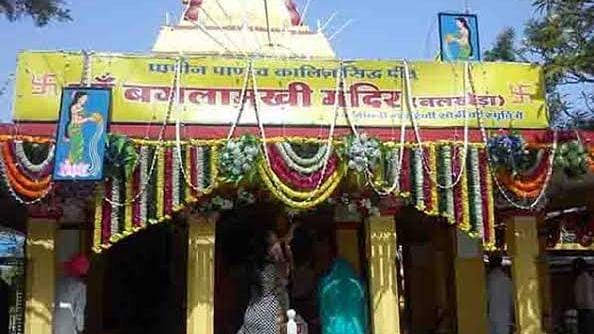 माँ बगलामुखी मंदिर की सुरक्षा में लगी सेंध