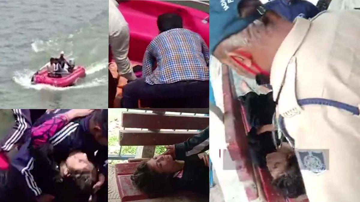 आत्महत्या के प्रयास से युवती कूदी बड़े तालाब में,गोताखोरों ने बचाई जान