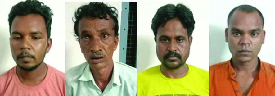 4 गांजा तस्कर सहित नशीली दवाओं का सौदागर गिरफ्तार