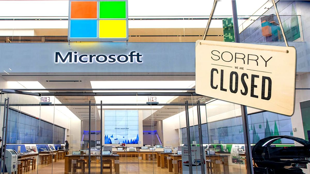 Microsoft Retail Stores will closed