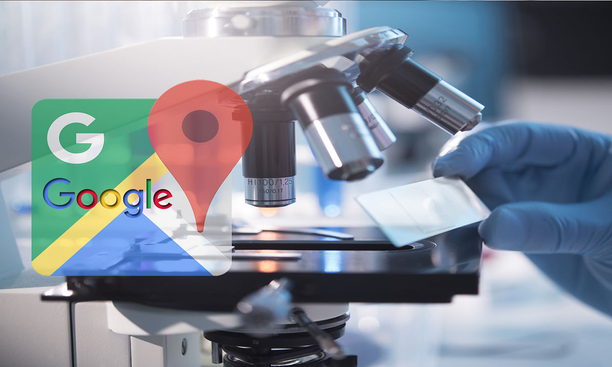 Google shows covid-19 Testing Centres