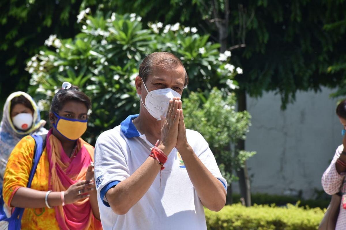 आज फिर भोपाल से 17 व्यक्ति कोरोना संक्रमण को हराकर अपने घर रवाना