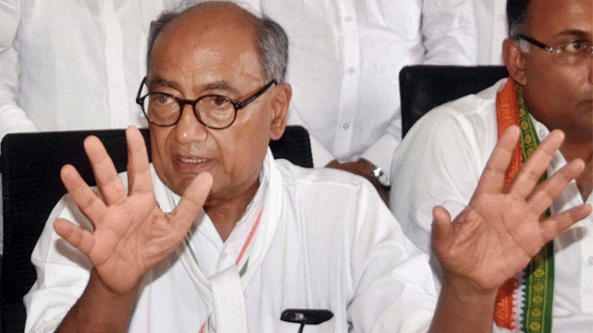 राजीव गांधी फाउंडेशन मामले पर बवाल-अब दिग्विजय ने पूछे सवाल