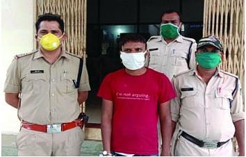 जबलपुर से पकड़ाया नशीली दवाइयों का सप्लायर अंकुश