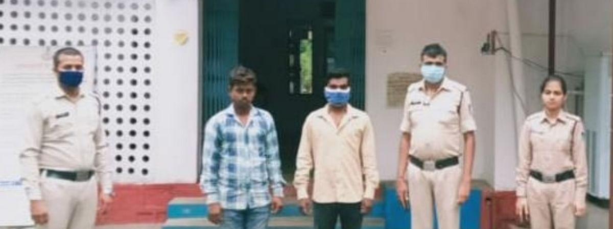 नाबालिग से रेप के मामले में आरोपी हुए गिरफ्तार