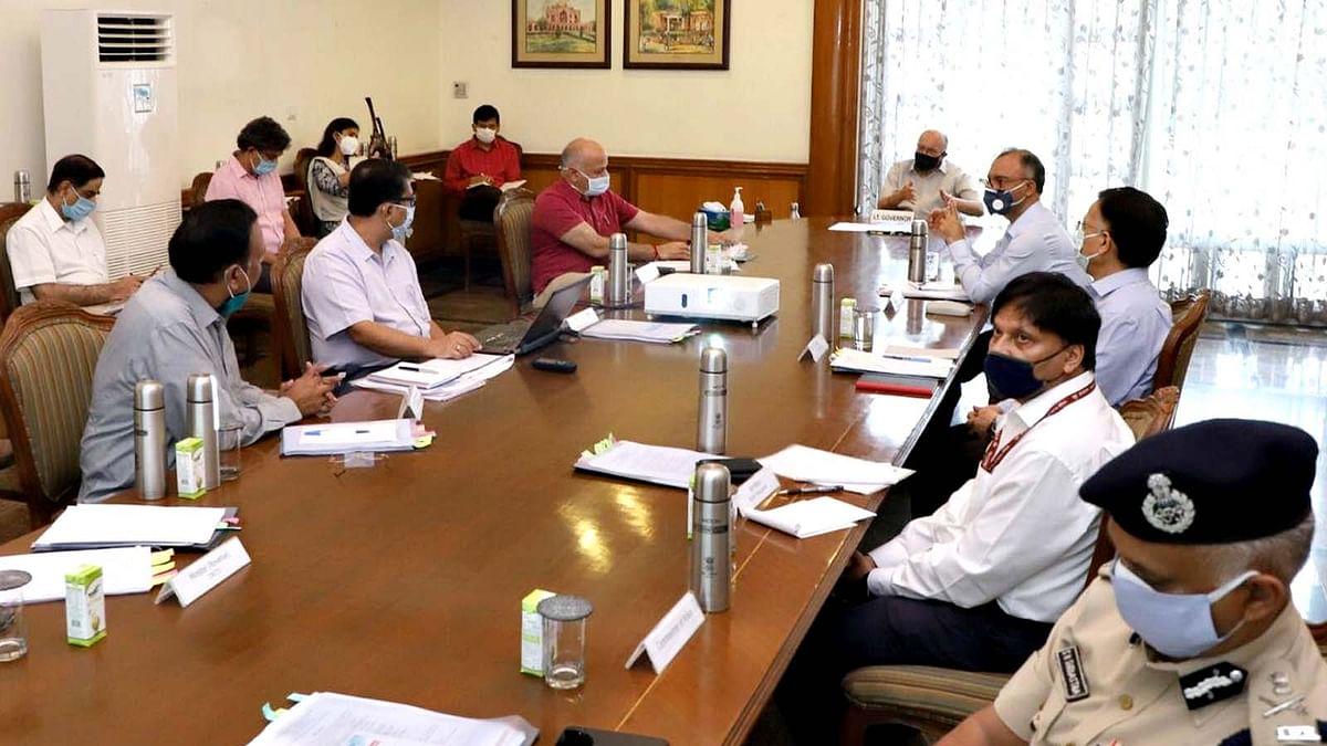 दिल्ली: कम्युनिटी स्प्रेड पर चर्चा, सिसोदिया बोले-30 जून तक 1 लाख केस