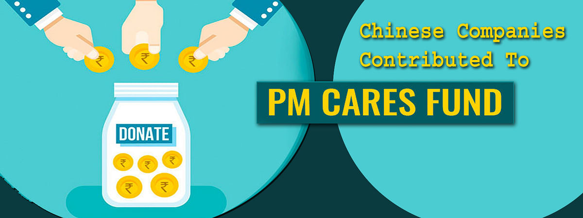 Chinese companies contributed to PM Cares Fund