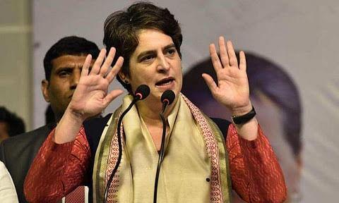 प्रियंका गांधी का BJP को ताना-सरकार गिराने की कोशिश का जनता देगी जवाब