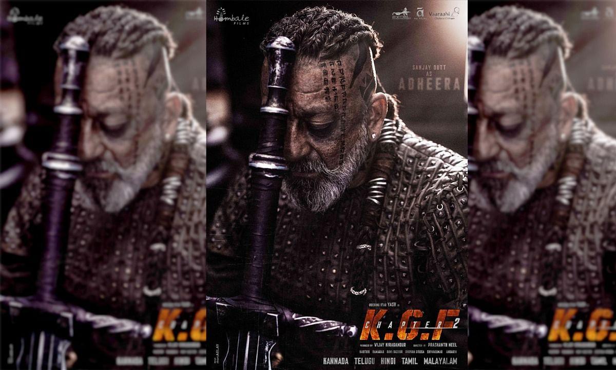 KGF 2 Sanjay Dutt Adheera Look