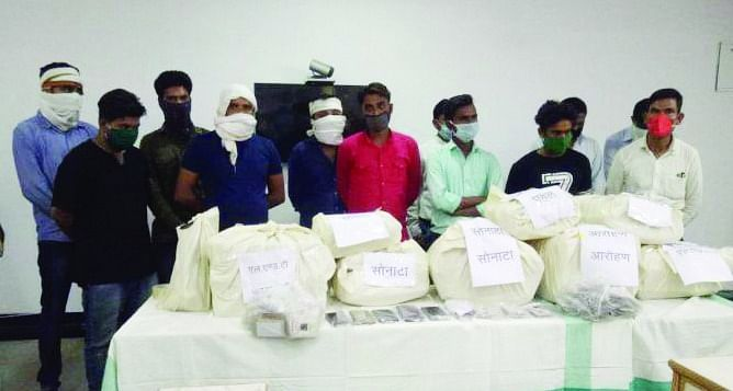 जाली दस्तावेजों में बांटा करोड़ों का लोन, दर्जन भर गिरफ्तार